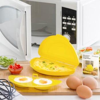 Recipient pentru făcut omletă la cuptorul cu microunde InnovaGoods poza bonami.ro