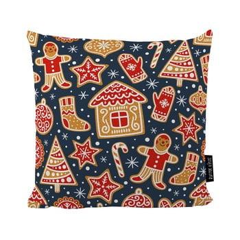 Pernă cu motive de Crăciun Butter Kings Mr. Gingerbread, 45x45 cm bonami.ro