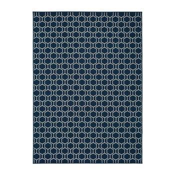 Covor pentru exterior Universal Clhoe, 120 x 170 cm, albastru poza bonami.ro