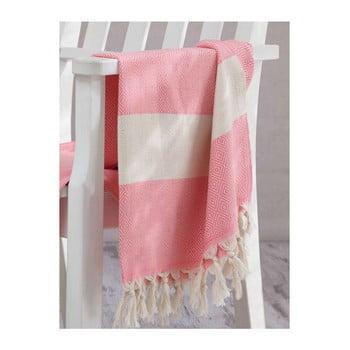 Prosop hammam Elmas Pink, 100x180 cm poza bonami.ro