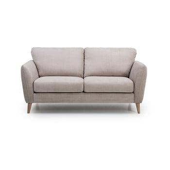 Canapea cu 2 locuri Scandic Paris, bej bonami.ro