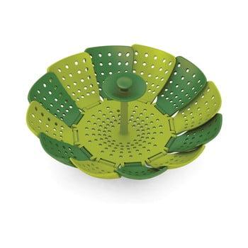 Steamer / sită pentru gătit cu aburi Joseph Joseph Lotus Plus, verde poza bonami.ro