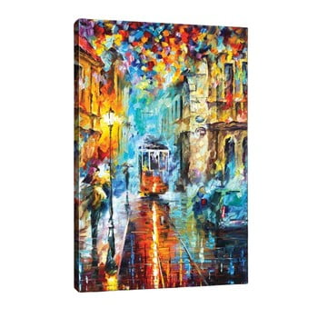 Tablou Rainy City, 40 x 60 cm bonami.ro
