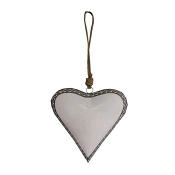 Inimă decorativă Antic Line Light Heart, 20 cm poza bonami.ro