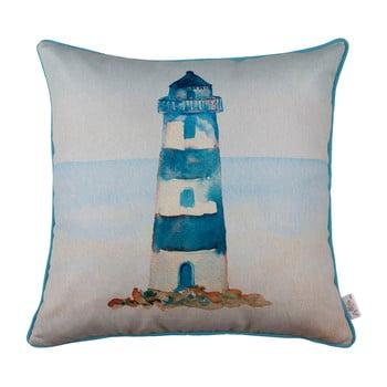 Față de pernă Mike&Co.NEWYORK Blue Lighthouse 43 x 43 cm bonami.ro