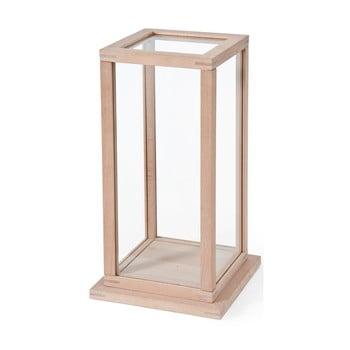 Cutie/vitrină din lemn Wireworks Treasure Trove, L imagine