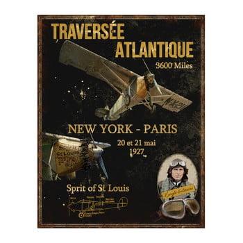 Placă metalică Antic Line St Louis, 28 x 36 cm bonami.ro