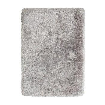 Covor țesut manual Think Rugs Montana Puro Silver, 80 x 150 cm, gri bonami.ro