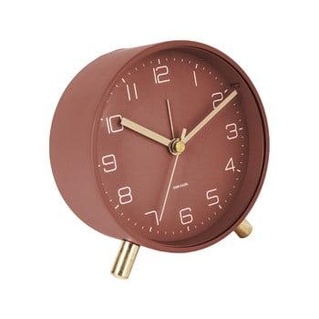 Ceas cu alarmă Karlsson Lofty,ø11cm, roșu bonami.ro