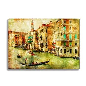 Tocător din sticlă Insigne Venice bonami.ro
