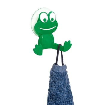 Cârlig de perete Wenko Frog, verde bonami.ro