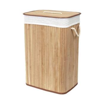 Coș din bambus pentru rufe Compactor Rectangular bonami.ro