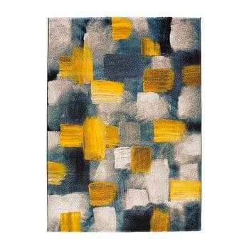 Covor Universal Lienzo, 140 x 200 cm, albastru - galben imagine