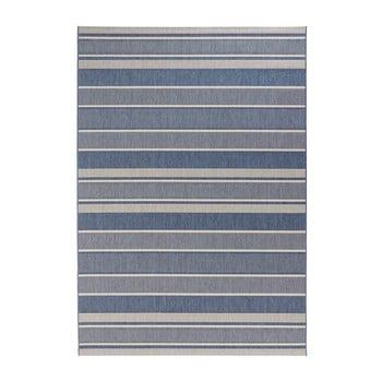 Covor de exterior Bougari Strap, 200 x 290 cm, albastru imagine