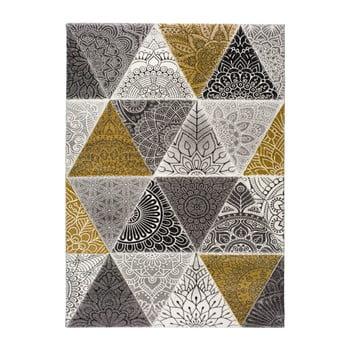 Covor Universal Amy Grey, 160 x 230 cm, gri - auriu imagine