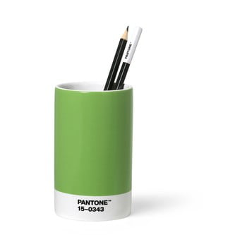 Suport din ceramică pentru pixuri și creioane Pantone, verde bonami.ro