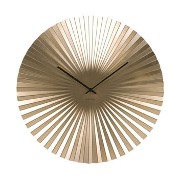 Ceas de perete Karlsson Sensu, Ø 50 cm, auriu bonami.ro
