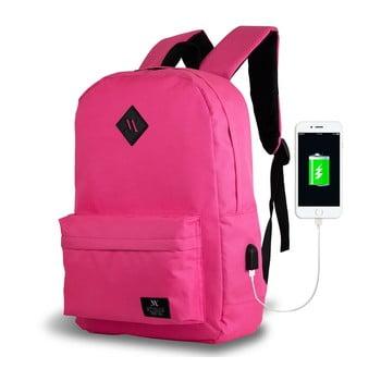 Rucsac cu port USB My Valice SPECTA Smart Bag, roz bonami.ro