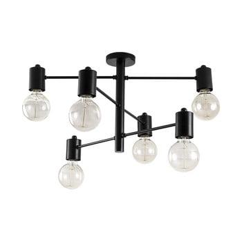 Plafonieră de 6 becuri Opviq lights Hexa, negru bonami.ro
