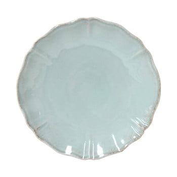Farfurie ceramica Costa Nova Alentejo, Ø 27 cm, turcoaz