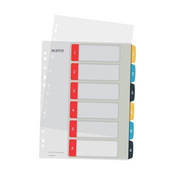Index numeric cu 6 etichete Leitz, A4 bonami.ro