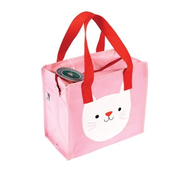 Sacoşă Rex London Cookie the Cat, roz poza bonami.ro