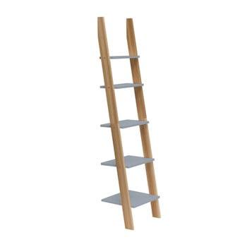 Raft în formă de scară Ragaba ASHME, lățime 45 cm, gri închis bonami.ro