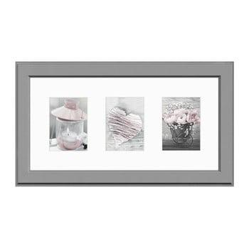 Ramă pentru 3 fotografii Styler Galeria Malmo AB, 23 x 46 cm bonami.ro