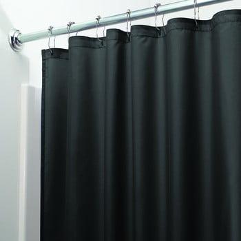 Perdea de duș iDesign, 200x180cm, negru bonami.ro