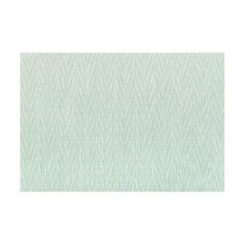 Suport pentru farfurie Tiseco Home Studio Chevron, 45 x 30 cm, verde poza bonami.ro