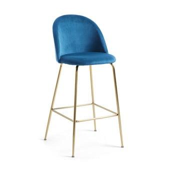 Scaun bar La Forma Mystere, înălțime 108 cm, albastru bonami.ro