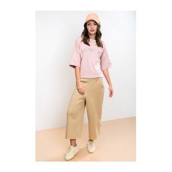 Tricou damă Lull Lowly, L, roz deschis poza bonami.ro