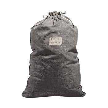 Săculeț textil pentru haine Linen Couture Bag Cool Grey, înălțime 75 cm bonami.ro