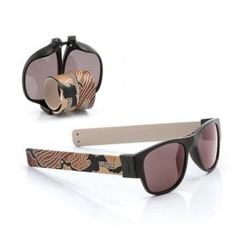 Ochelari de soare pliabili InnovaGoods Sunfold TR6, mov-negru poza bonami.ro