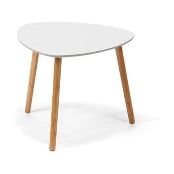 Masă de cafea loomi.design Viby, 55 x 55 cm, alb bonami.ro