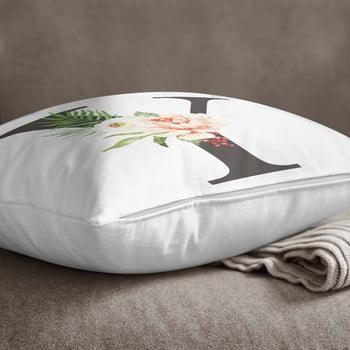 Față de pernă Minimalist Cushion Covers Floral Alphabet Y, 45 x 45 cm poza bonami.ro