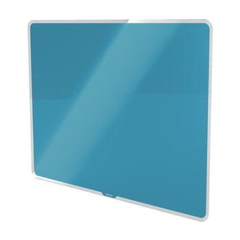Tablă magnetică din sticlă Leitz Cosy, 80 x 60 cm, albastru poza bonami.ro