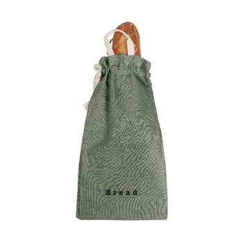 Săculeț textil pentru pâine Linen Couture Bag Green Moss, înălțime 42 cm bonami.ro