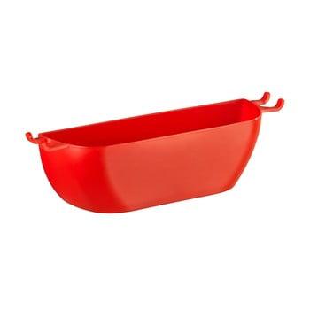 Coșuleț de perete Wenko Turbo-Loc Brasil Red, roșu bonami.ro