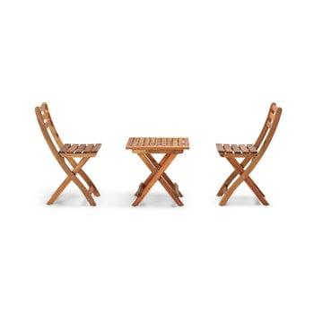 Set mobilier de grădină din lemn de acacia Le Bonom Balcony imagine