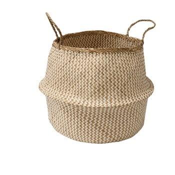 Coș pentru depozitare din iarbă de mare Compactor Zic Zac, ⌀ 45 cm poza bonami.ro