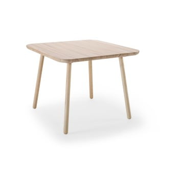 Masă dining din lemn de frasin EMKO Naïve, natural imagine