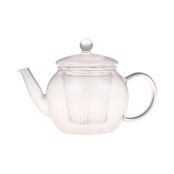 Ceainic de sticlă Bambum Petunia, 500 ml bonami.ro