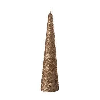 Lumânare J-Line Glitter, auriu bonami.ro