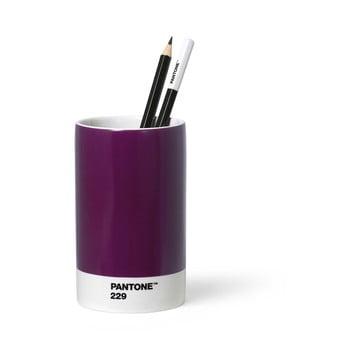 Suport din ceramică pentru pixuri și creioane Pantone, violet bonami.ro