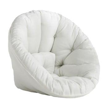 Fotoliu extensibil adecvat pentru exterior Karup Design Design OUT™ Nido White, alb bonami.ro