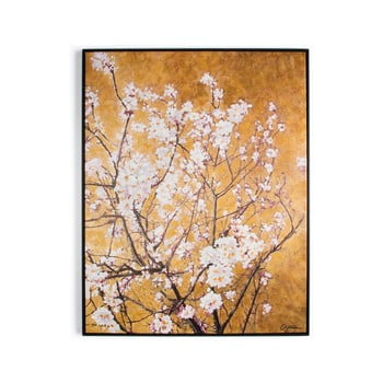 Tablou pictat manual Graham & Brown Blossom, 70 x 90 cm poza bonami.ro
