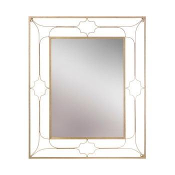 Oglindă de perete Mauro Ferretti Balcony, 80x100cm, auriu imagine
