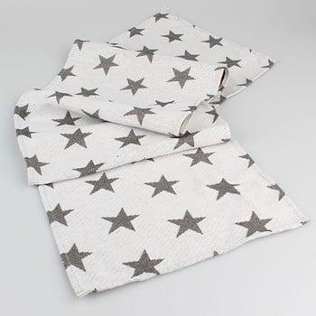 Șervet masă cu steluțe Dakls, alb bonami.ro