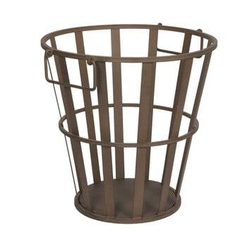 Coș metalic pentru lemne Antic Line, înălțime 41 cm poza bonami.ro